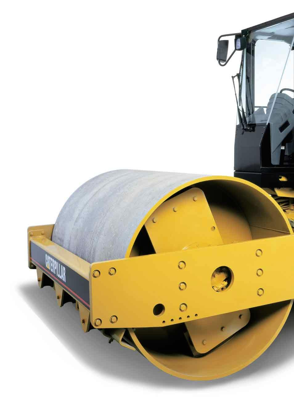 Reliability, Serviceability and Comfort in a Durable Package The CS-563D  and Soil Compactors