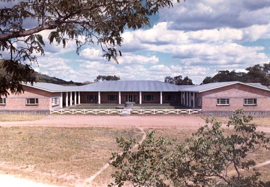 5 - Chidamoyo Mission Hospital, 1967 Photograph by Ziden Nutt The evangelization programme on the other