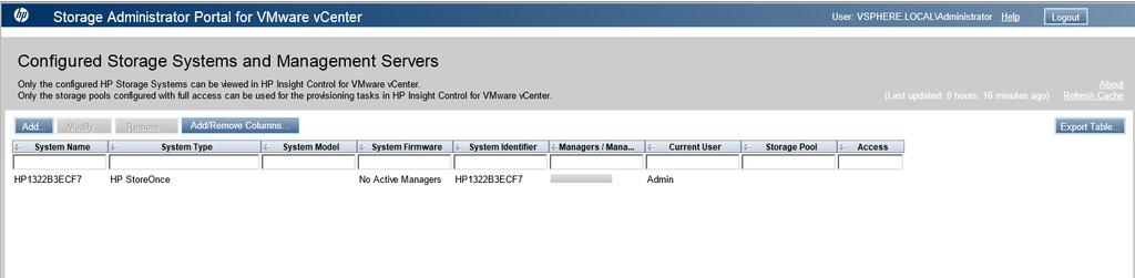 HPE Recovery Manager Central for VMware User Guide - PDF