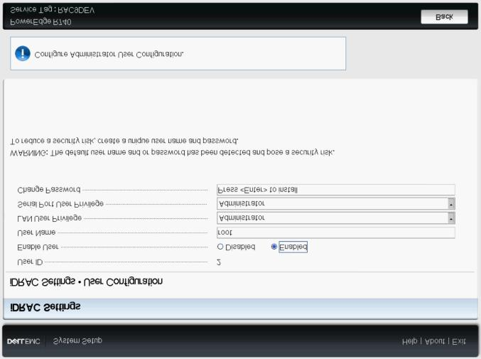 Factory Generated Default Password for idrac9 for Dell EMC 14th