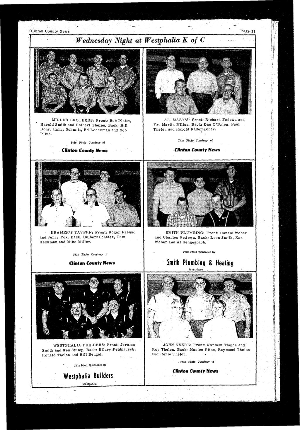 week clinton county bowling yearbook pdf