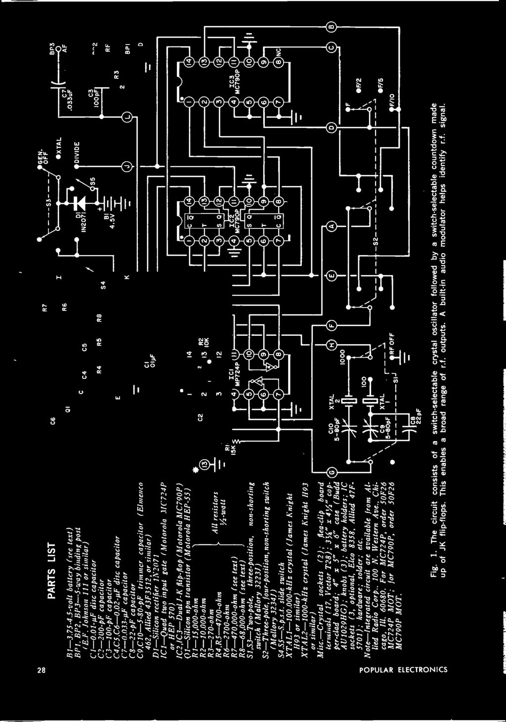 Whats New In 1970 Cb Equipment What To Buy Ham Radio Augugsq Dwell Dan Amstrong Blue Clipper Guitar Effect Circuit Diagram 033 9f Capacitor C8 22 Pf C9c10 5