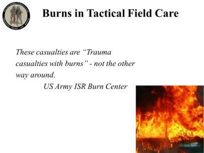 INSTRUCTOR GUIDE FOR TACTICAL FIELD CARE #3 IN TCCC-MP - PDF