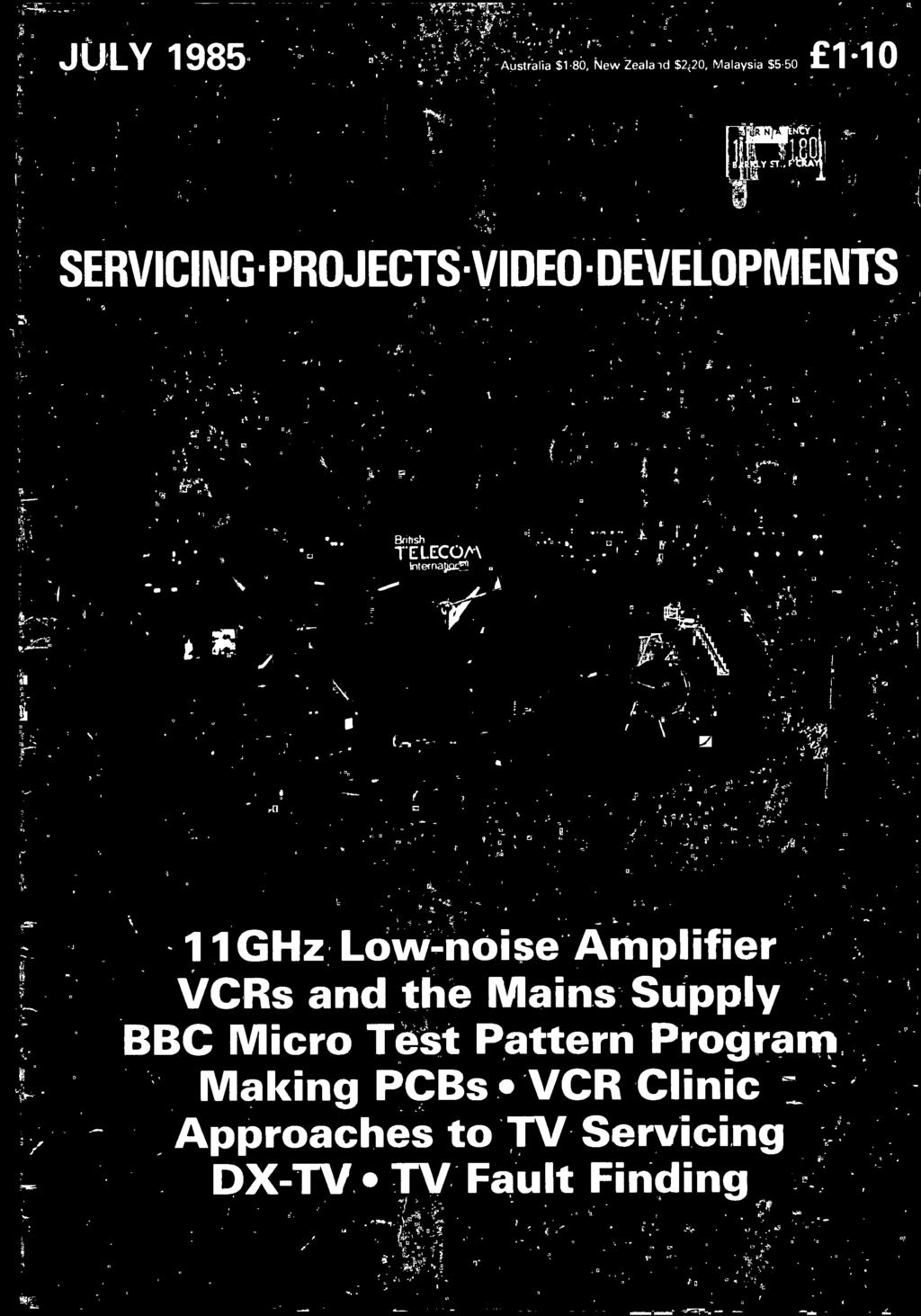 Approaches To Tv Servicing Pdf Car Audio Amplifier With Ic Ta7203p Micro Test Pattern Program Making Pcbs Vcr