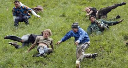 May 30th: Cheese Rolling Festival (UK) Taste different cheeses Look at how
