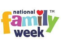 May 21st June 1st: National Family Week Talk about who is in our family Make a family tree Paint family pictures/create a family