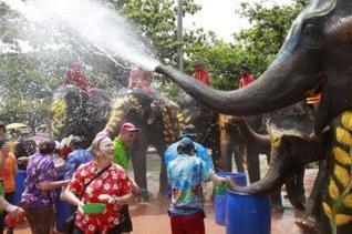 June 16th Save the Children Den Day Find out what the Songkran Water Festival is.