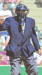 During that three-game series at Shaw Park, Lemoine umpired at third on Friday, at first on Saturday and then, for the Sunday matinee, took his Photo by Tara Miller Henry Lemoine - Rookie Pro Umpire