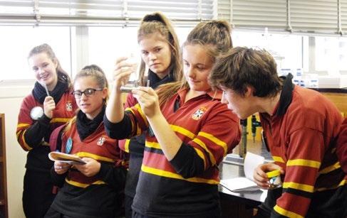 SENIOR COLLEGE News RELIGIOUS EDUCATION News Chemical Murder Mystery excursion On Thursday 4 th of July, some of our Year 10 Science students visited Flinders University to participate in the