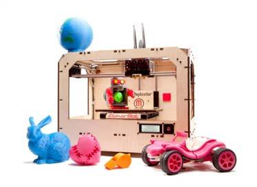 2013] 3D PRINTING INFRINGEMENT 777 MakerBot s Replicator Printer 19 MakerBot s 3D printers give the ability to print products in the home almost as easily as printing a document with an inkjet