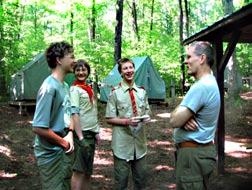 Troop 5 is filled with adults and older scouts who will push you 100% to where you want to go. If you want to become an Eagle Scout, they ll be there.