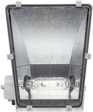 LASER LASER are powerful asymmetric floodlights designed for use with 1000 W and 2000 W HID lamps.