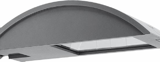 SBP URBAN LIGHTING KYRO 1-2 Body and cover in die-cast aluminium finished classified IP66 rating.