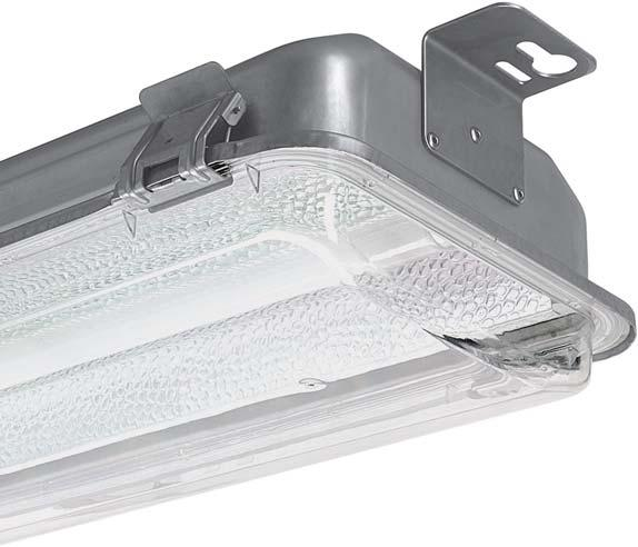 lighting. Manufactured in a stainless steel body, with a toughened safety glass or dished clear polycarbonate cover.