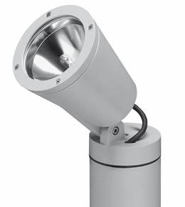 SBP URBAN LIGHTING TYCO 23 SPECIFICATIONS Luminaire head, glass cover frame, and base manufactured from die-cast aluminium sandblasted and phosphor-chromate pretreatment, finished painted;