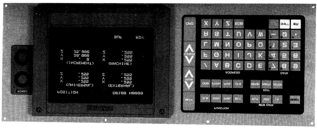 This manual is primarily intended with 9 CRT character display to give operators instructions for YASNAC J50M programming, operation and maintenance.
