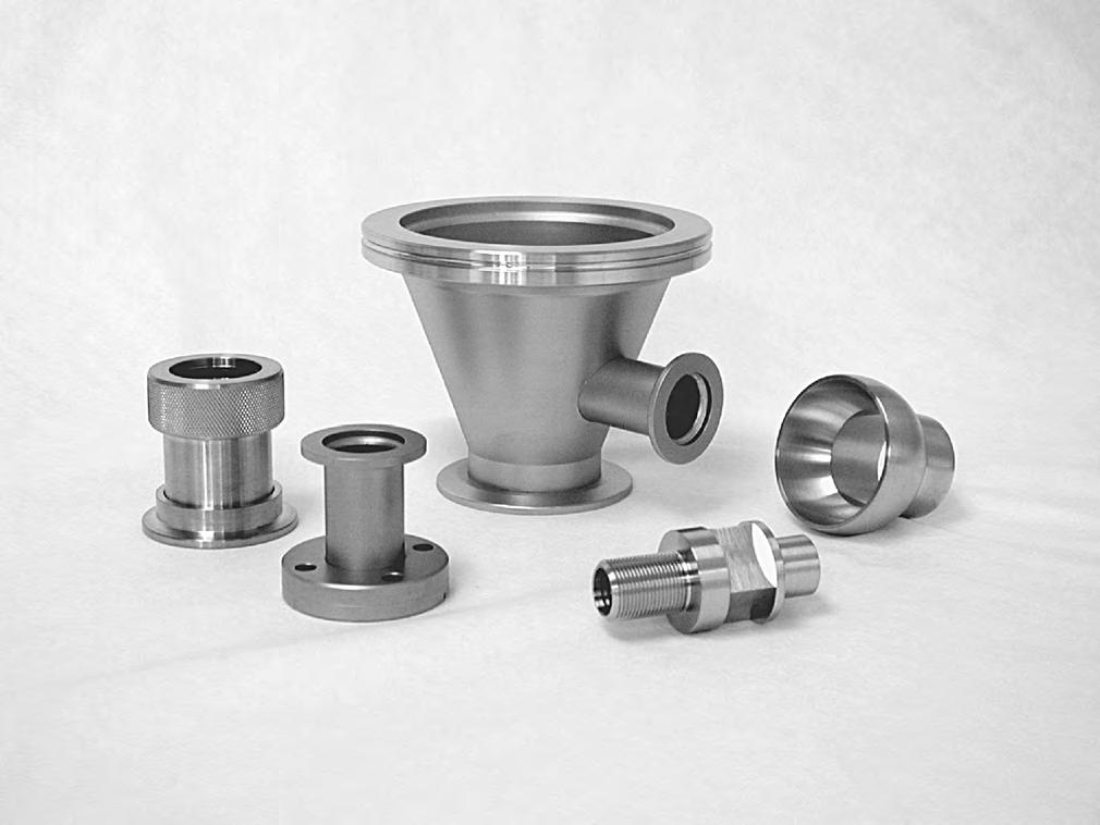 Nor-Cal NW Aluminum Clamp Vacuum Fitting 304 SS Stainless SureSeal
