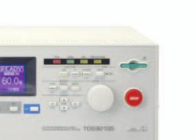 Up to 10 kv/5 ma with a maximum output of 50 W in DC withstanding voltage test Perform insulation resistance testing in the range of -25 V to -1000 V / 0.01 M to 9.