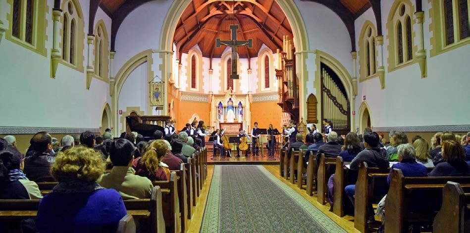 Music News Music Captains Jack and Lynda Patrick Katherine Hugh Chamber Concert On Wednesday 6 June, a sizable audience gathered at St John s Church Halifax to listen to the chamber music offerings