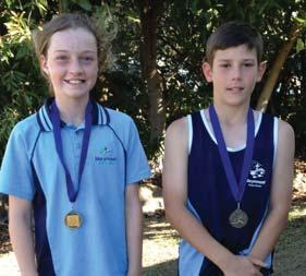 Special congratulations to Ellie Beer and Jayden Wright who were both named District Age Champion for the 11 year old girls and boys respectively.