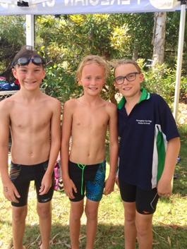 The awesome foursome had a great day at the Regional Trial at Caboolture last Wednesday, with a few of our swimmers crawling off their sick beds to compete. Super work team.