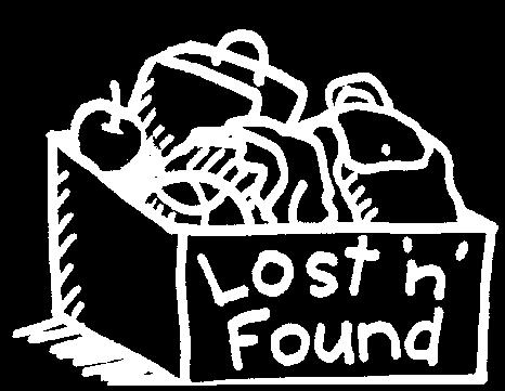 Please check for lost items before the end of term.