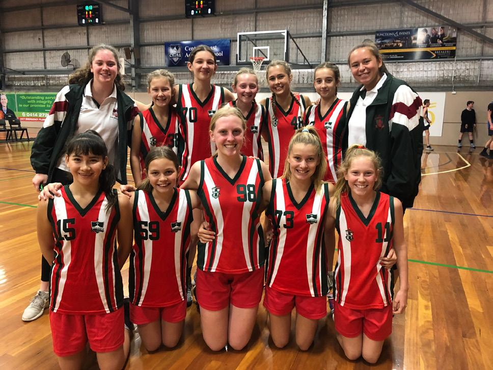 Sport SPORT REPORT BBSSSA Basketball Congratulations to the Stella Junior and Intermediate Basketball teams who competed at the BBSSSSA Basketball Championships at Terrigal on Thursday, 16 August.