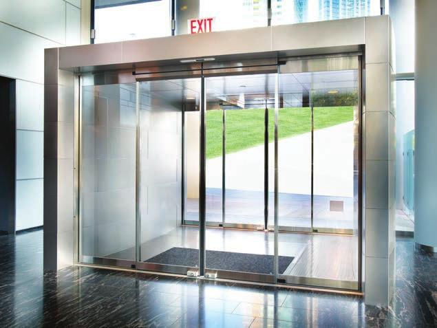 Automatic sliding door solutions  Entrance systems - PDF