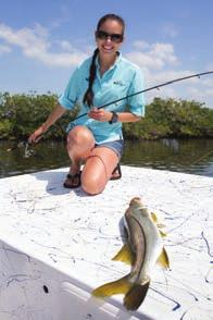 """Brittany has developed important relationships with fishing guides in the area,"" said Micheal Allen, director of the UF/IFAS Nature Coast Biological Station."