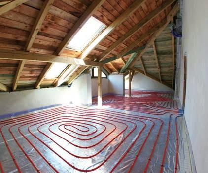 The floor heating system has turned out to be the best solution to maintain the best warmth comfort in the building industry, e.