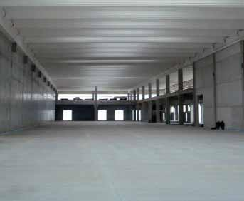 Optimising space As industrial underfloor systems are incorporated into the floor, all surface areas including floor, walls and ceiling are free from equipment requiring space (items such as air