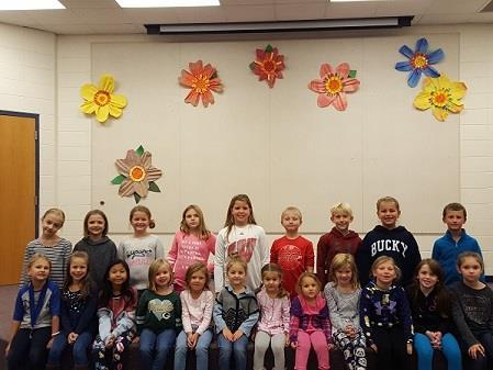 trait. Our September trait is The 3 Bs. Students worked on Being safe, Being responsible, and Being respectful.