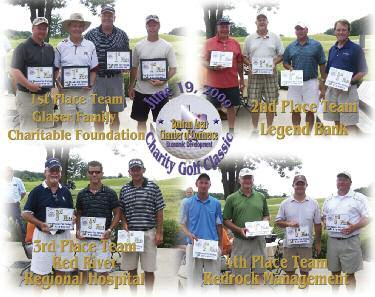 2010 Golf Tourney To Be Best Yet (Continued from Page 1) 4 amateur players will get a chance to have a great time and win some great prizes, as well, in this scramble format.