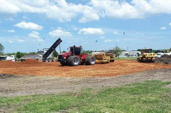 Braum s Begins Construction At New Location As you may have noticed, work has begun on the new