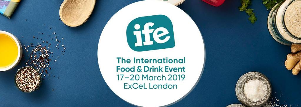 Bursting with inspiration, The International Food & Drink Event is a celebration of 1,350 innovative, global and cutting-edge food & drink manufacturers.