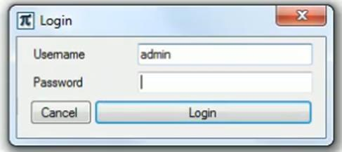 4 MANAGING LOGINS 4.2 Login When you log in, please proceed as follows: Once you ve activated the Inspection program database tab or Settings tab.