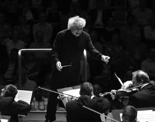 Simon Rattle conductor Pierre-Laurent Aimard piano Sun 17 Apr 2016 Haydn The Seasons (sung in German) Sir Simon Rattle conductor London Symphony Chorus Simon