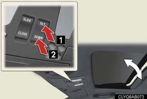 Window lock switch The window lock switch disables the operation of passenger window