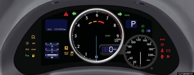 What to do if... List of Warning/Indicator Lights The units used on the speedometer and tachometer gauge display, as well as the indicators and warning lights, may differ depending on the model / type.