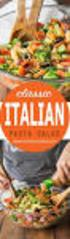 Ciao! Dinner Menu. Everyone s favourite Italian dishes