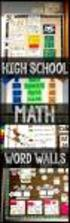 Mathematics Department Remedial Activities for Secondary IV Mathematics