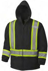 Yellow//Green L 6 Storage Pockets V116016T-L Tall Fit Pioneer CSA High Visibility Safety Work Coverall for Men