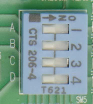 136 Appendix F: The Matrox Iris GTR breakout board Output-to-input bypass switches The output-to-input bypass switches (SW5[1] to SW5[4]) allow you to reroute a Matrox Iris GTR auxiliary output