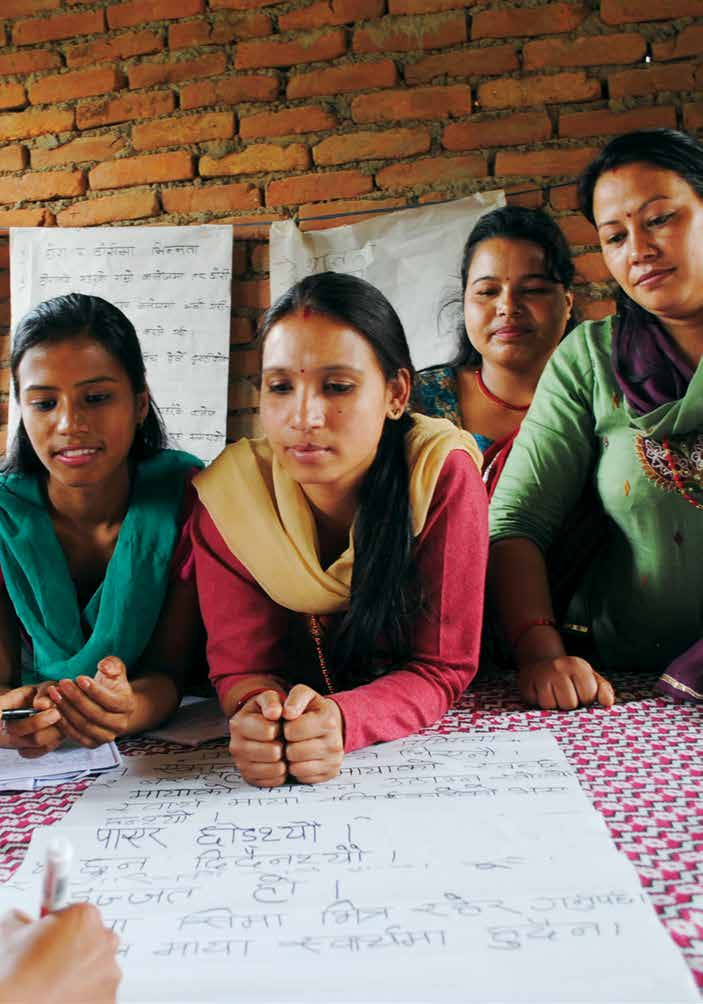 Voice. Agency. and. Empowering women and girls for shared ...