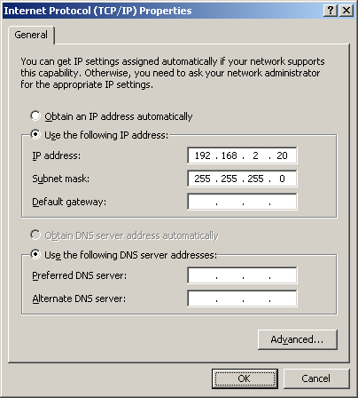 Step 2 Configure the loopback adapter 1. Open the Control Panel and double-click Network Connections 2.