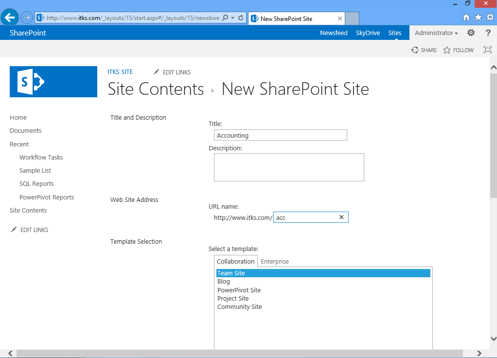 Getting started with SharePoint sites