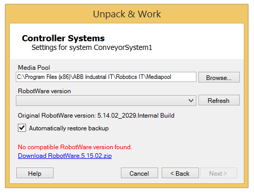 Import of RobotStudio S4 4.0 stations and libraries no longer supported It is no longer possible to import stations and libraries from RobotStudio S4 4.0. Discontinued 3D formats Import of PLY, Jupiter and VRML1 formats are no longer supported.