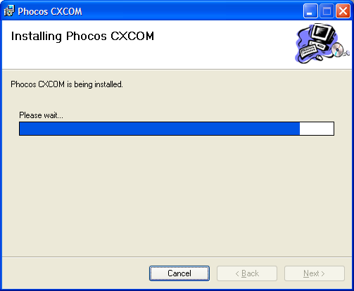 Phocos CXCOM software is