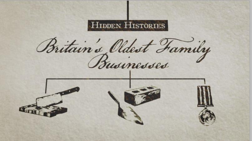 For this report, we also invited leading academics to write on the subject as part of a BBC/OU co-produced series, Hidden Histories: Britain s Oldest Family Businesses, first broadcast on BBC Four