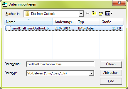 In Microsoft Outlook press Alt + F8 to create a new macro.